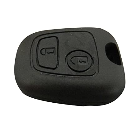 Bross BDP516 Pantograph Type 2-Button Remote Key Housing Case Cover For Peugeot 107 207 307 407 106 206 306 406