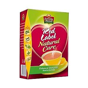 Brooke Bond Red Label -Natural Care(5 Ayurvedic Ingredients)500g