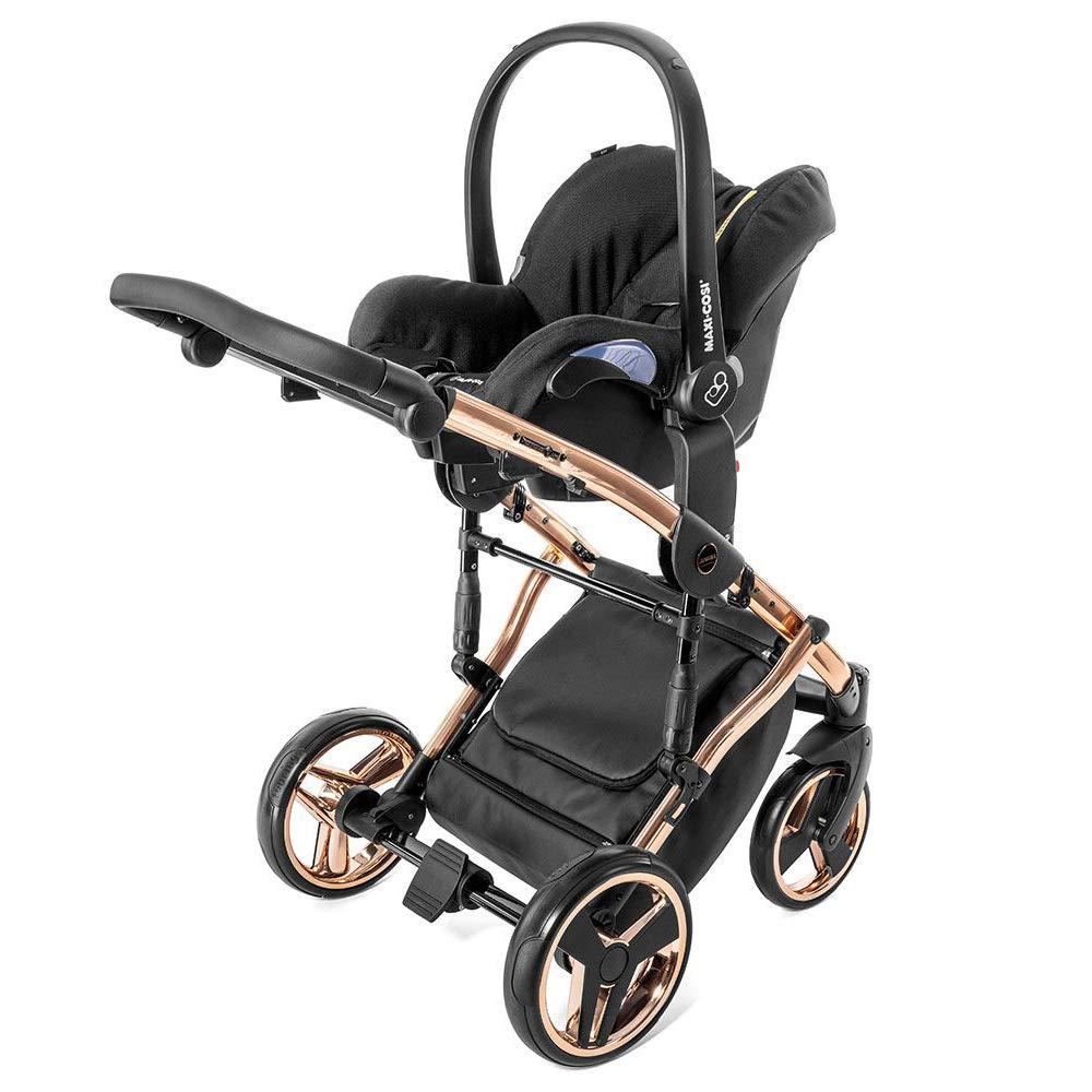 passend f/ür Autositze von Maxi-Cosi, Cybex und Kiddy Junama Babyschalen Adapter f/ür Kinderwagen Diamond und Madena