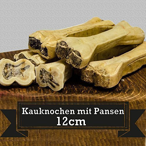 Kauknochen mit Pansen - 10Stk. von George and Bobs