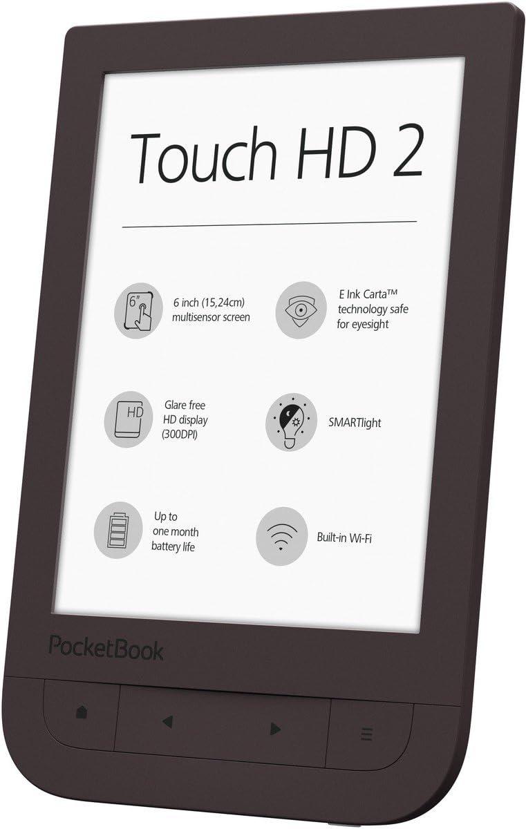 POCKETBOOK Touch HD 2 Dark Chocolate: Amazon.es: Electrónica