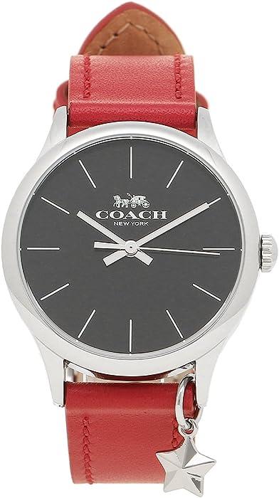 8fabccbd99be [コーチ] 腕時計 レディース アウトレット COACH W1549 RD/BK レッド ブラック シルバー [並行
