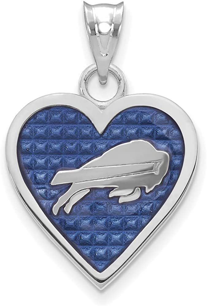 FB Jewels Solid 925 Sterling Silver Buffalo Charm