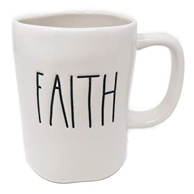 Rae Dunn  FAITH  Ceramic Coffee Mug By Magenta