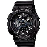 Casio G-Shock Analog-Digital Black Dial Men's Watch - GA-110-1BDR (G317)