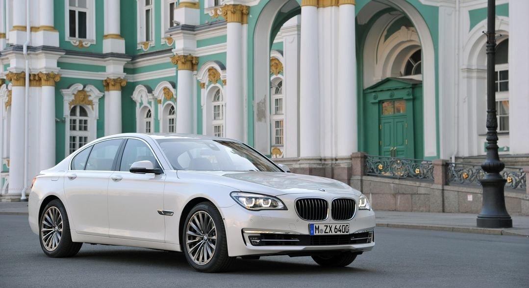 BMW 7 Series (110x60 cm \ 44x24 inch) Poster Seda Cartel ...