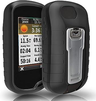 TUSITA Funda para Garmin Oregon 600 600t 650 650t 700 750 750t - Case Protectora de Silicona - Accesorios GPS de Mano (Negro): Amazon.es: Deportes y aire libre