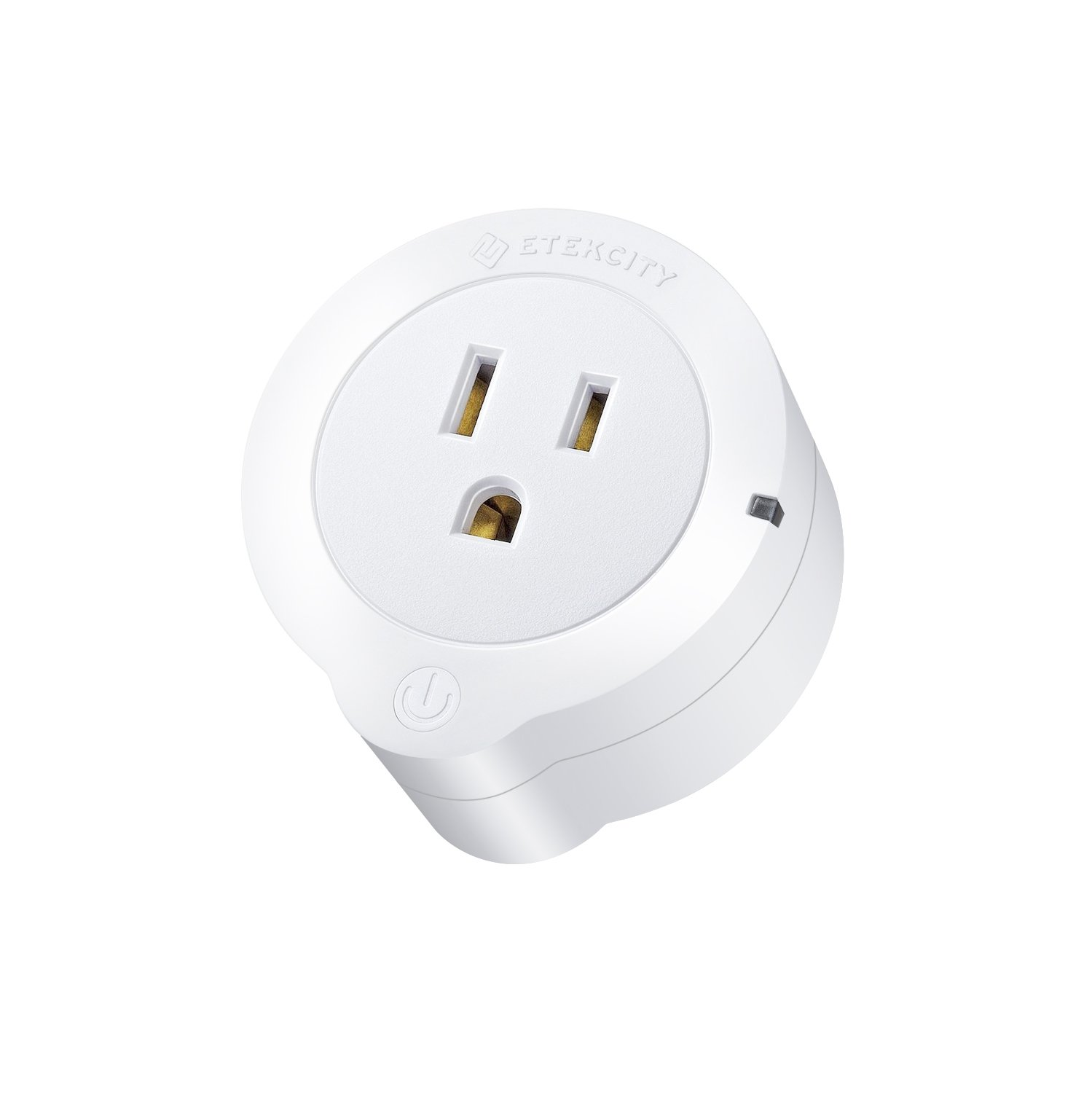 Etekcity WiFi Smart Plug, Voltson Mini Outlet with Energy Monitoring (1-Pack), No Hub Required, ETL Listed, White, Works with Alexa, Google Home and IFTTT