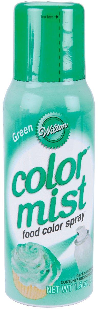 Wilton Bulk Buy Color Mist Food Color Spray 1.5 Ounces Green W710CM-5503 (3-Pack)