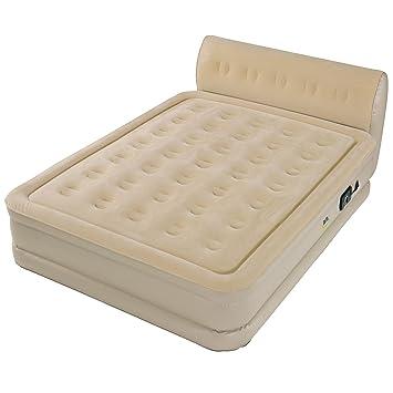 serta air mattress reviews Amazon.com: Serta Perfect Sleeper Queen Air Bed with Headboard  serta air mattress reviews