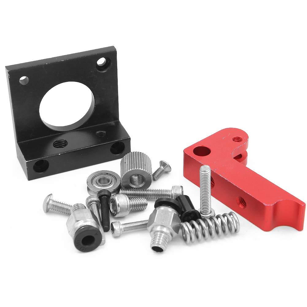 MK8 Bowden-Extruder-Zubehö r, rechte Hand, 3D-Druckerteile, MK8 Extruder Upgrade Ersatz Aluminium MK8 Extruder Drive Feed fü r CR-10 Dawa