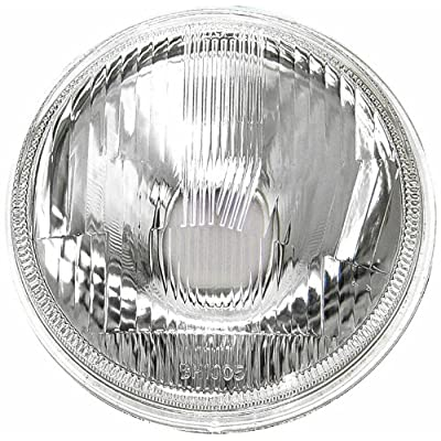 "IPCW CWC-7003 5-3/4"" Plain Round Conversion Headlight - 1 Piece: Automotive"