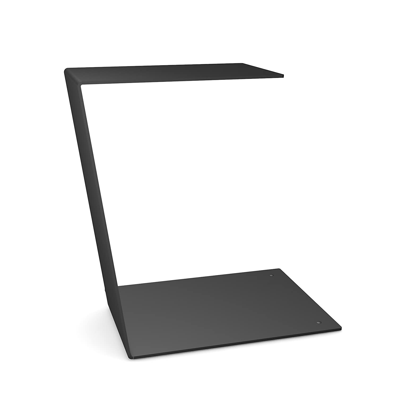 Beistelltisch Design design beistelltisch c table schlicht und klar in schwarz aus