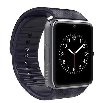 Coloré(TM) Montre Connectée, GT08 Bluetooth montre Smart Watch téléphone Nate Mate pour