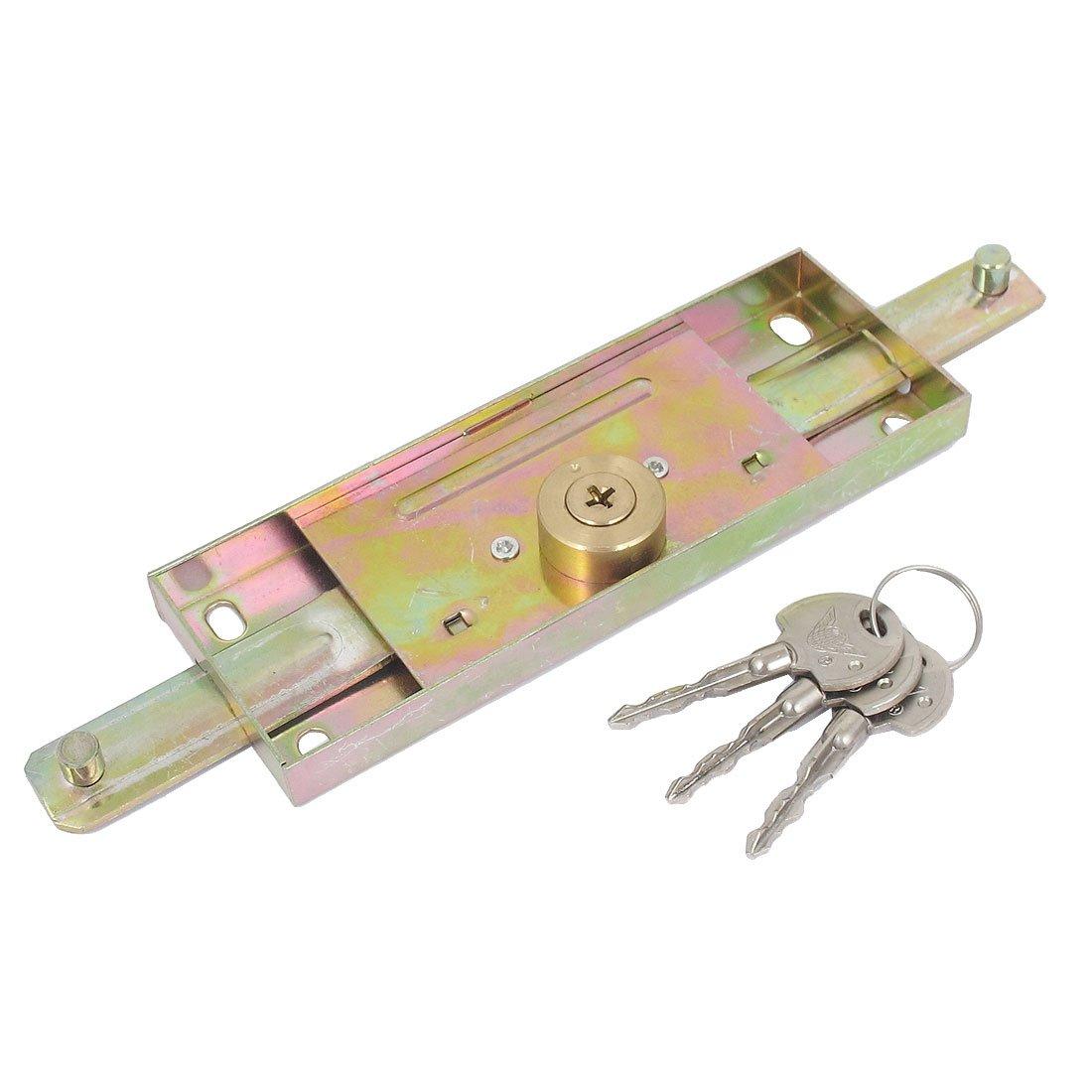 Aexit Warehouse Garage Security Vertikale Kreuzverriegelung Rollt/ürverschluss mit 3 Schl/üsseln afc01298cbc9cb1b5c41f21ea6226f82