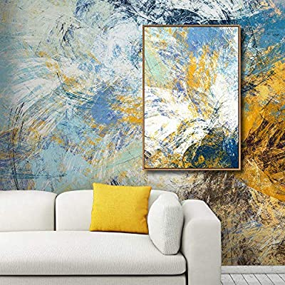 Beautiful Technique, That's 100% USA Made, Framed for Living Room Bedroom Creative Idea Colour Profusions Theme for