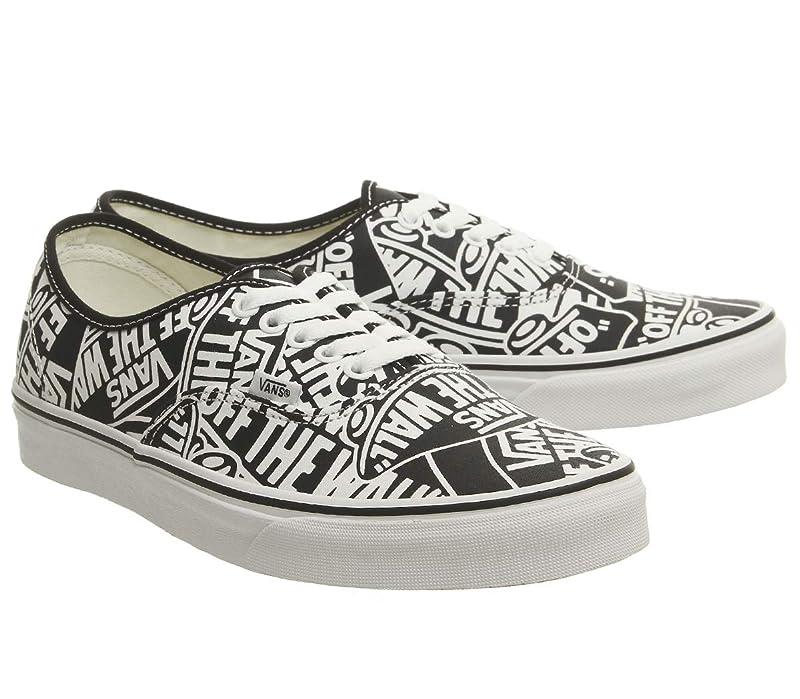 Vans Authentic Sneaker Unisex Schwarz Weiß