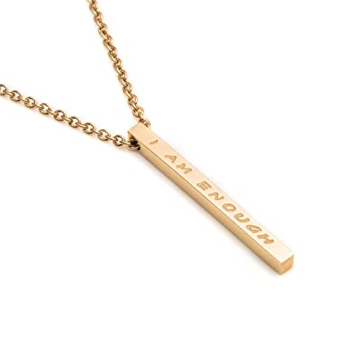 Amazon.com: Joycuff - Collar inspirador para mujer, joyería ...