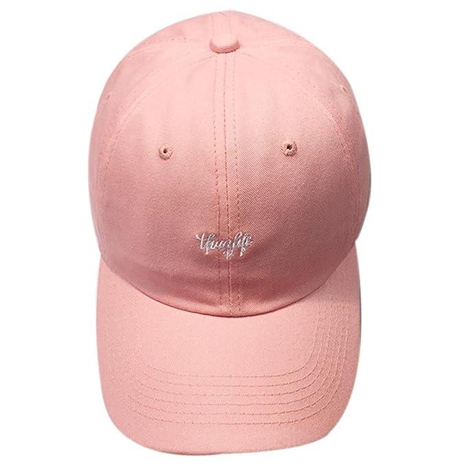 Sombrero de mujer Switchali moda Carta de bordado gorra de hombre Gorras de béisbol  para Unisexo 152c65e65c6