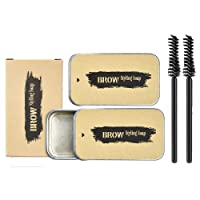 Ownest 2PCS Eyebrow Soap Kit,Brows Styling Soap,Long Lasting Waterproof Smudge Proof...