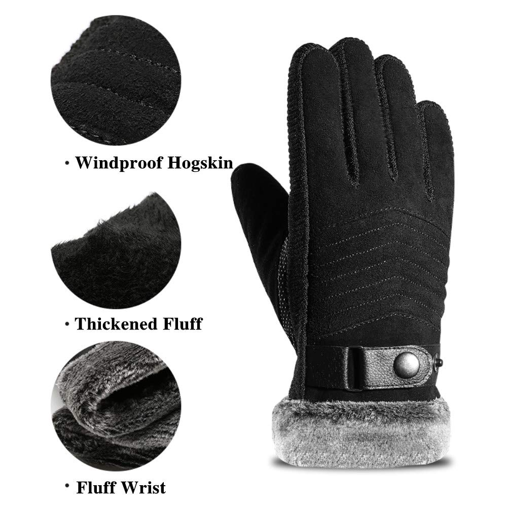 Screen Touch Gloves For Men Anti-slip Winter Warm Smartphone Texting Unisex Touchscreens Glove