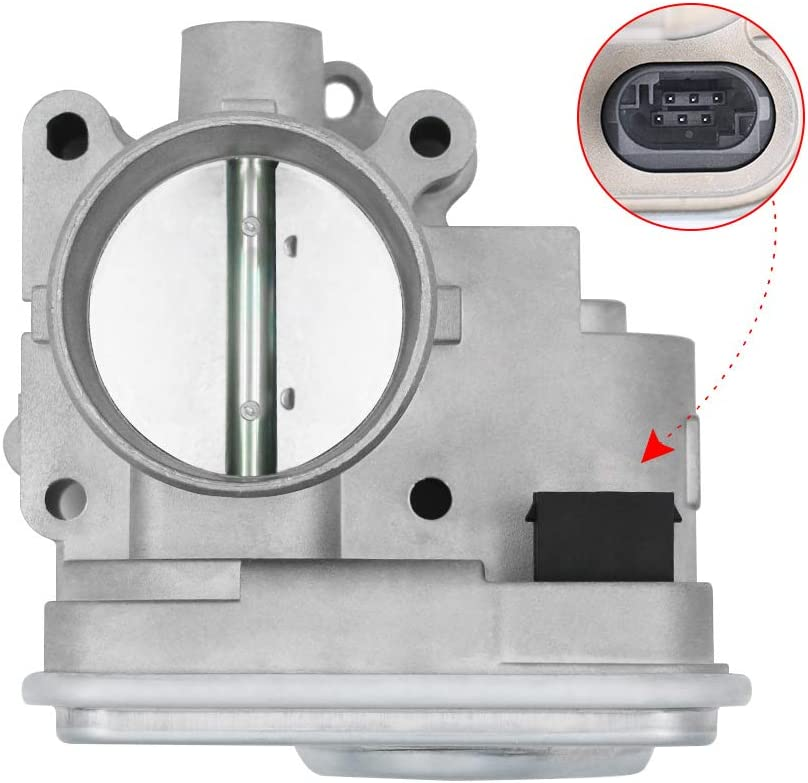 Journey 4891735AC Dodge Avenger 4891735AD Sebring Jeep Compass and Patriot 04891735AC Electronic Throttle Body Assembly with IAC /& TPS-Fits 2.0L and 2.4L Chrysler 200 977025 Caliber