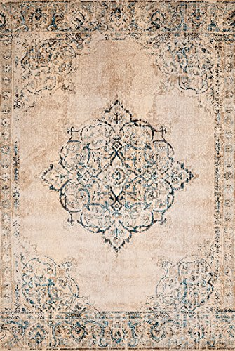 United Weavers of America Jules Opal Vintage Area Rug, Room Size, Parchment