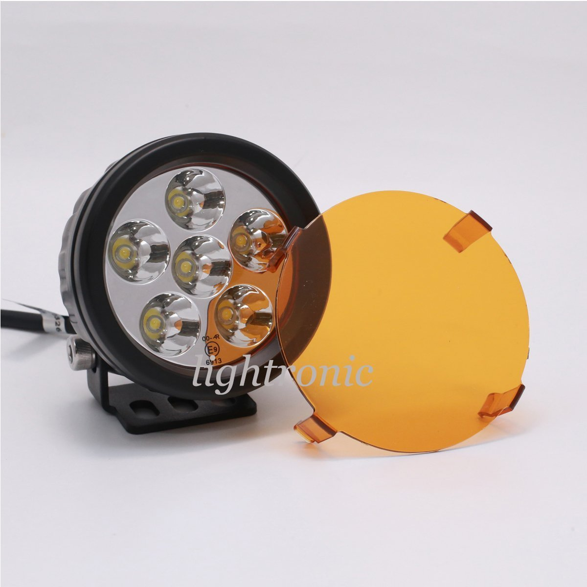 lightronic 2PCS 3.5 INCH 18W Round Compact Size LED Off-Road Driving Pod Work Rear Fog Lights