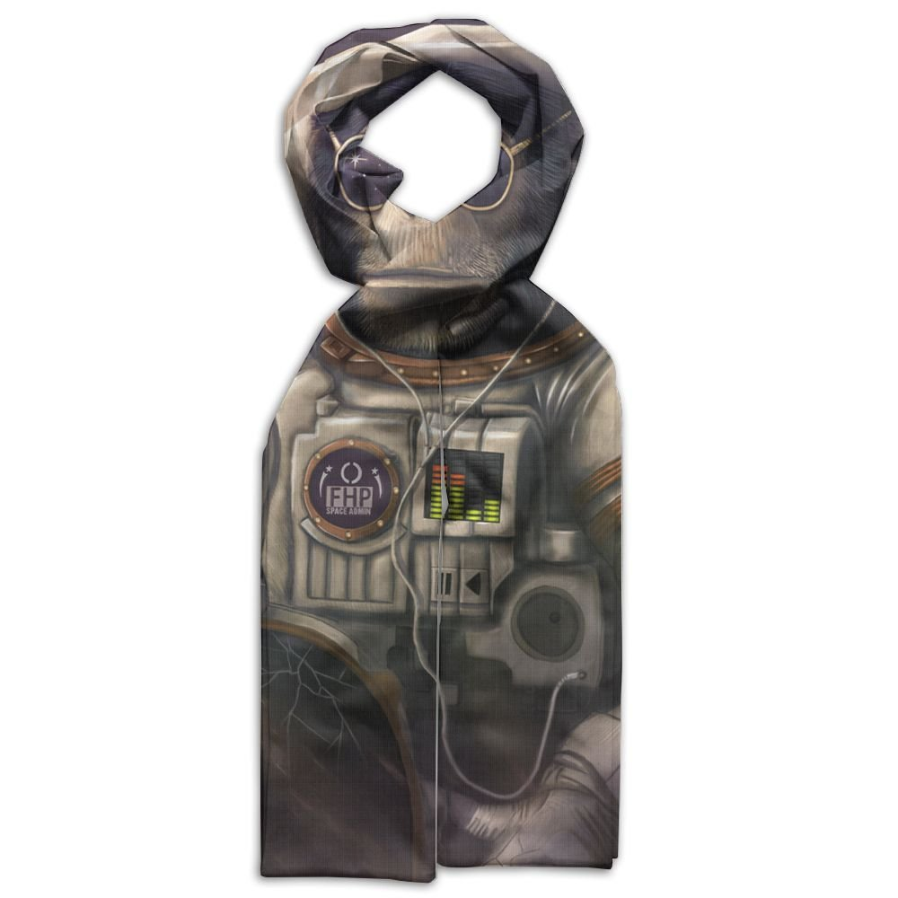 Fuuny Monkey Sunglasses Astronaut In Space Young Gift Box Double Side Cool Warm Scarf