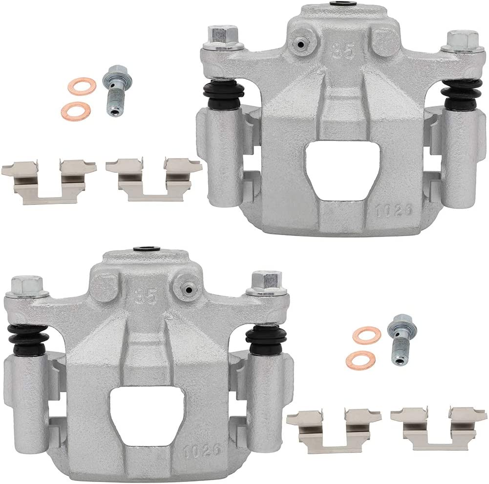 LSAILON Rear Disc Brake Caliper Compatible with 2007-2012 for Nissan Altima,2011-2017 for Nissan Juke,2007-2008 for Nissan Maxima,2011 2012 2014-2016 for Nissan Sentra
