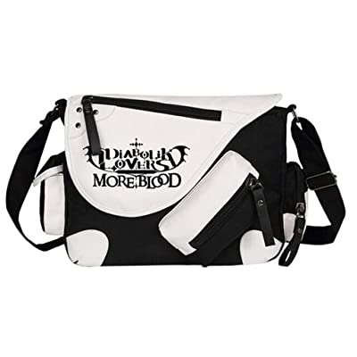 American Girl With Wolf Headdress Messenger Bag Crossbody Bag Large Durable Shoulder School Or Business Bag Oxford Fabric For Mens Womens