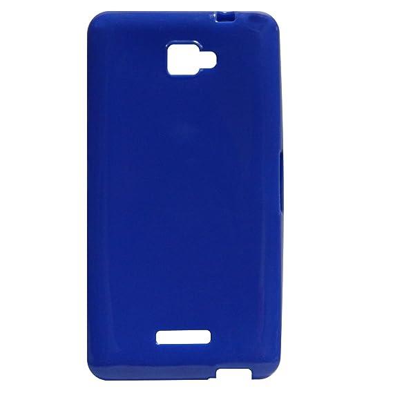 quality design 2b059 bfa1b Crazy Fashion Blue Back Cover for Panasonic Eluga S: Amazon.in ...