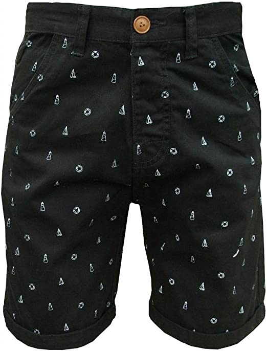 Soul Star Men/'s Molvin Shorts Black