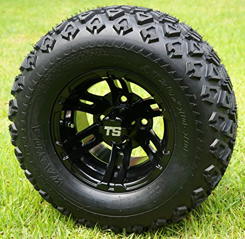 eels and 20x10-10 DOT All Terrain Golf Cart Tires - Set of 4 ()
