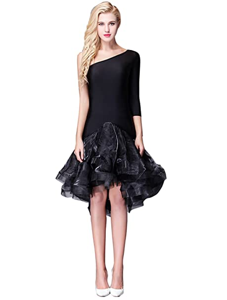 Amazon.com: YC Well baile latino vestido mujer Salsa Rumba ...