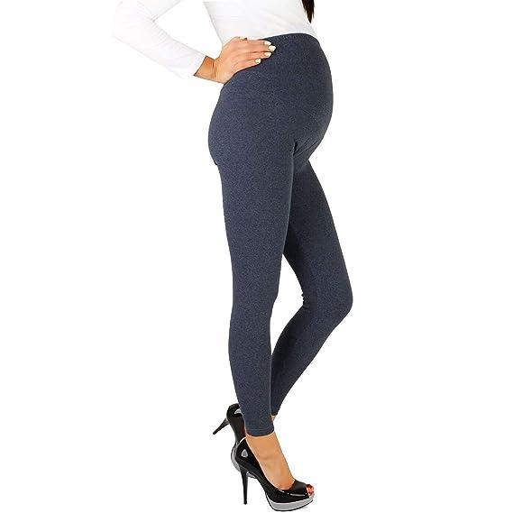 14e836252 gagacity Ropa Premamá Pantalones Leggings de mamá Pantalones de Maternidad  Leggins Embarazada Mujer Pantalones Premama Legging Banda pará Barriga  Leggins ...