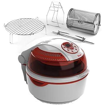 Freidora a Air Digital Automático Multifunción Horno Turbo convección para cocinar sin aceite y grasa Max ...