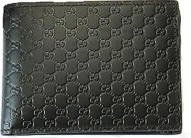 c5ffff5a4dac (グッチ) GUCCI 2つ折財布 新品 メンズ レディース ブラック マイクログッチシマ 292534-BMJ1N