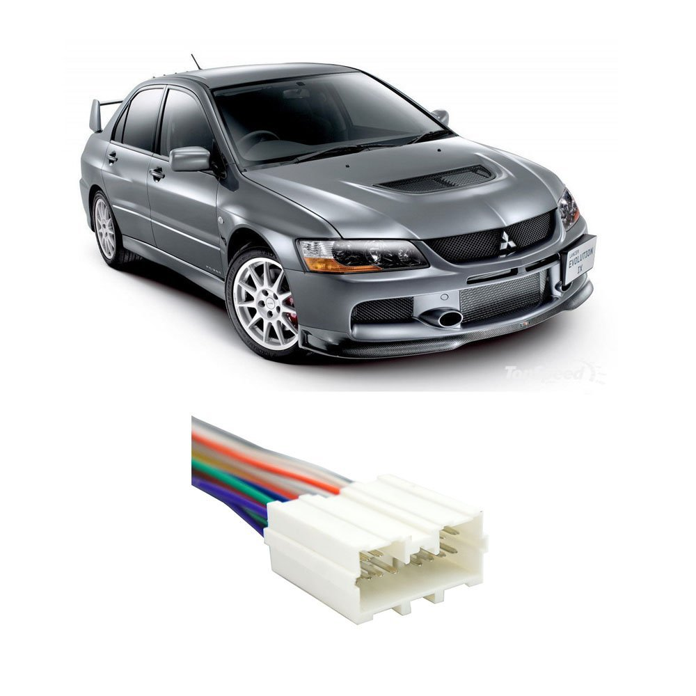 Amazon.com: Fits Mitsubishi Lancer 2002-2007 Factory Stereo to Aftermarket  Radio Harness Adapter: Car Electronics