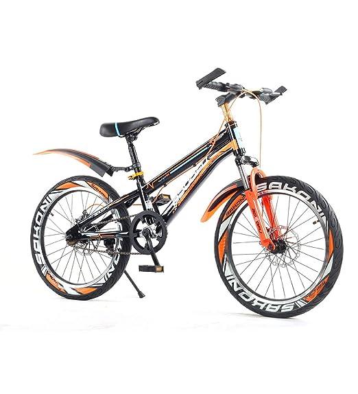 SJSF Y Bicicleta De Montaña para Niños, Naranja 16/18/22 ...