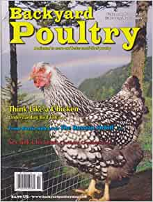 backyard poultry magazine march 2013 various books