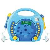 701480 - Karaoke CD Player MP3 2 Mikros Junge, blau