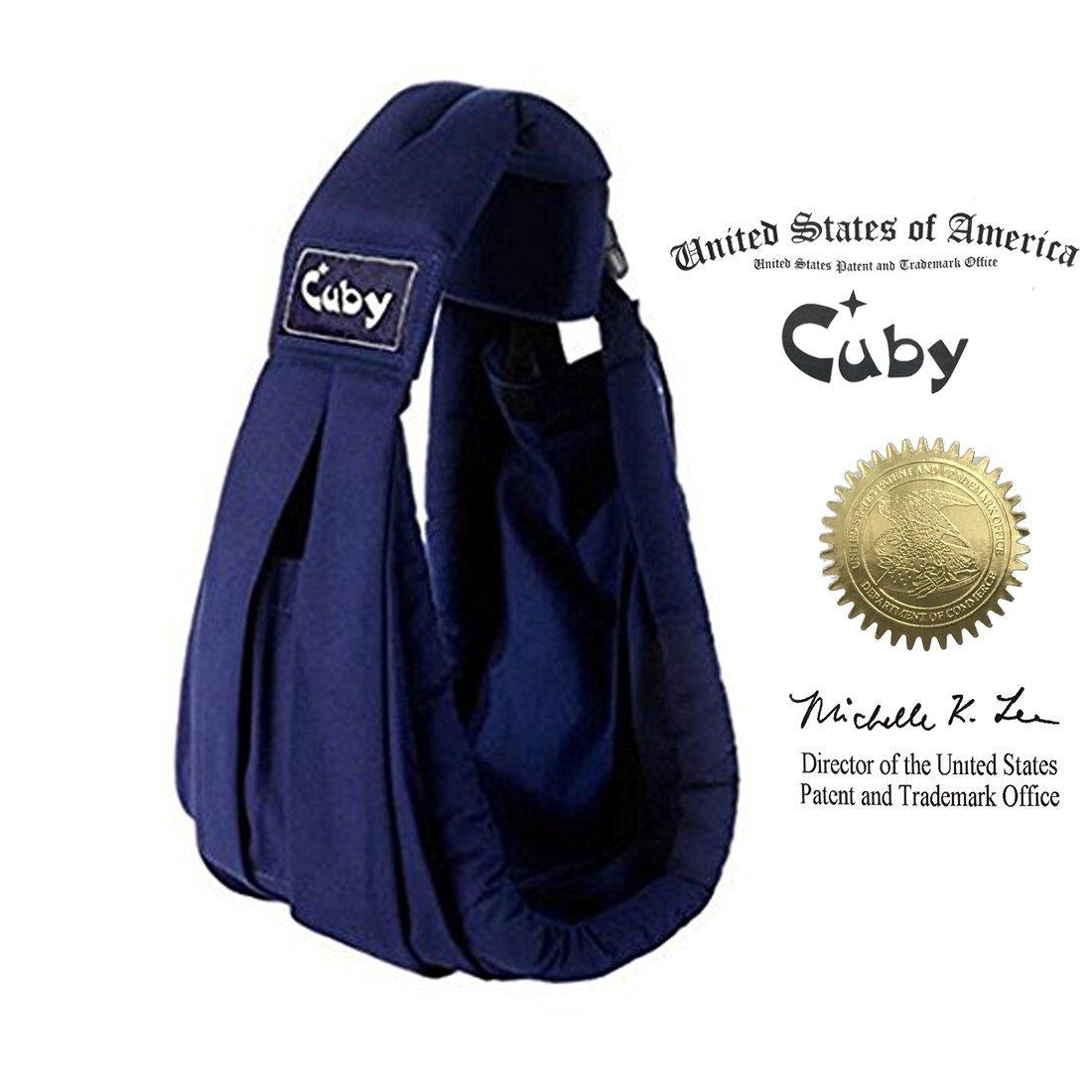 Cuby Porte-bébé Hamac De transport et allaitement Pour nouveau-nés (Blue) Cuby CB034