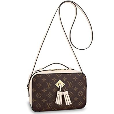 5f68d41a72727 Louis Vuitton Monogram Canvas Saintonge Cross Body Handbag Creme Article   M43559 Made in France  Amazon.co.uk  Shoes   Bags