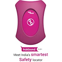 Trakbond Trail+ Wearable Safety Locator|GPS Tracker for Adults (Adults, Mystique Magenta)