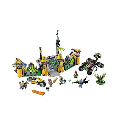 LEGO Chima Lavertus' Outland Base (70134): Toys & Games