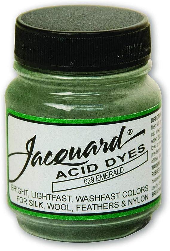 Jacquard Batería de ácido tintes 1/2 ml-Verde