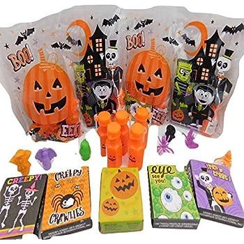 Amazon.com: Happy Halloween Pre-filled Favor Bolsas De Boo ...