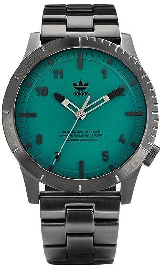 Adidas by Nixon Reloj Analogico para Hombre de Cuarzo con Correa en Acero Inoxidable Z03-