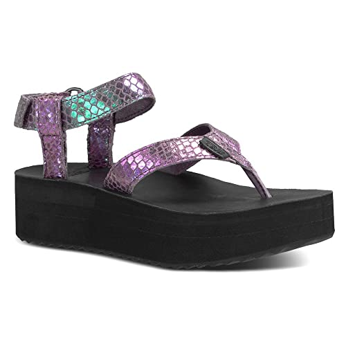 44fb980ccf2 Teva Women s Flatform Iridescent Sandal